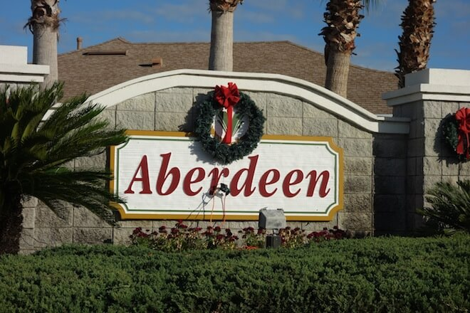 Aberdeen is located in beautiful Viera. This grand subdivision sits on the front 9 holes of the pristine four-star-rated Viera East Golf Course.