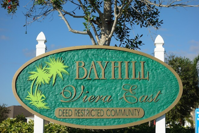 In the heart of beautiful Viera is the charming community, Bayhill. With exceptional single family homes crafted by prominent homebuilders, Holiday Builders, this is a gorgeous place to reside. Lots in Bayhill tend to range from 50' by 120' in size and have the added luxury of unbelievable views of its conservation areas and glistening lake.