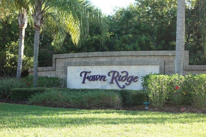 Located in East Viera is the beautiful community, Fawn Ridge. Just off of Murrell Road, this development boasts single family homes on lots 55' to 130' in size built by notable homebuilders like Holiday Builders and Maronda Homes.  Residents enjoy astounding views of the conservation area and sparkling lake. Pricing for homes in Fawn Ridge range from $170,000 to $250,000.
