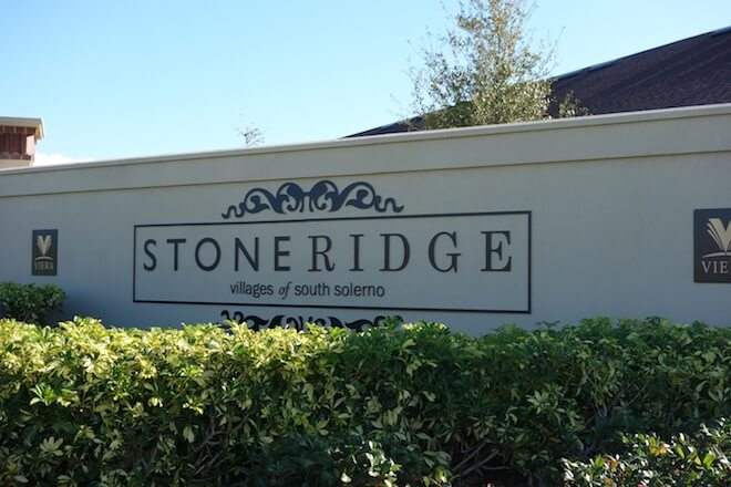 The illustrious gated community, Stoneridge, houses a sumptuous collection of town homes with breathtaking views of its peaceful lake. Nestled in the Villages of South Solerno, these one-two story town homes were exclusively created by leading homebuilder Tiffany Homes